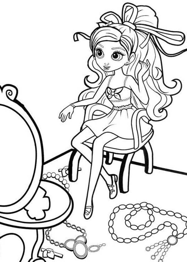 Jewlery coloring pages ~ Pages Jewelry Engagement Sketch Coloring Page