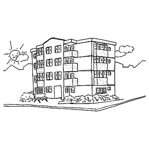 Similiar Tall Building Coloring Pages Keywords