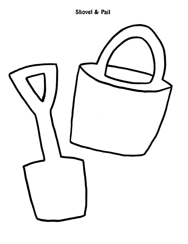 Sand Bucket Template Images