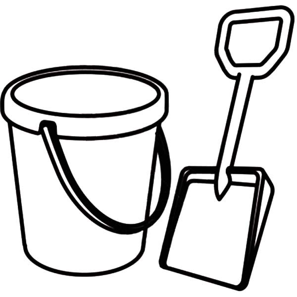 shovel coloring pages - photo#21
