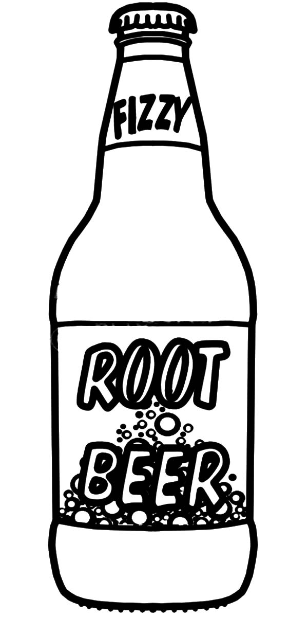 rootbeer coloring pages - photo#2