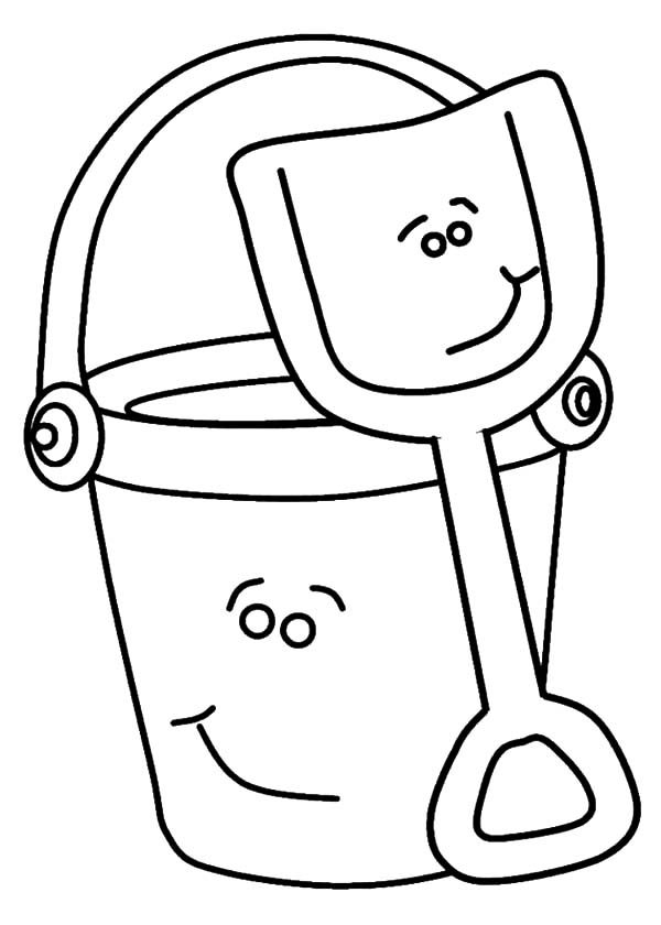 shovel coloring pages - photo#29