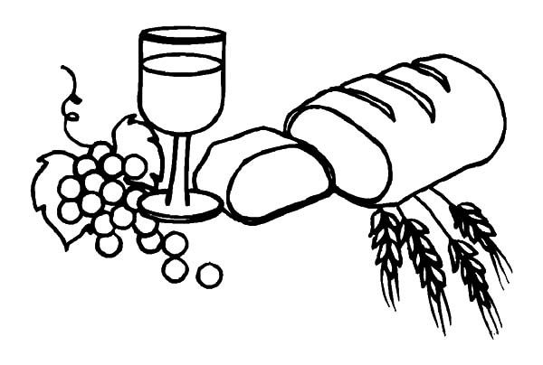leaven bread coloring pages - photo#32
