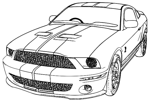 2006 ford mustang car coloring pages best place to color. Black Bedroom Furniture Sets. Home Design Ideas