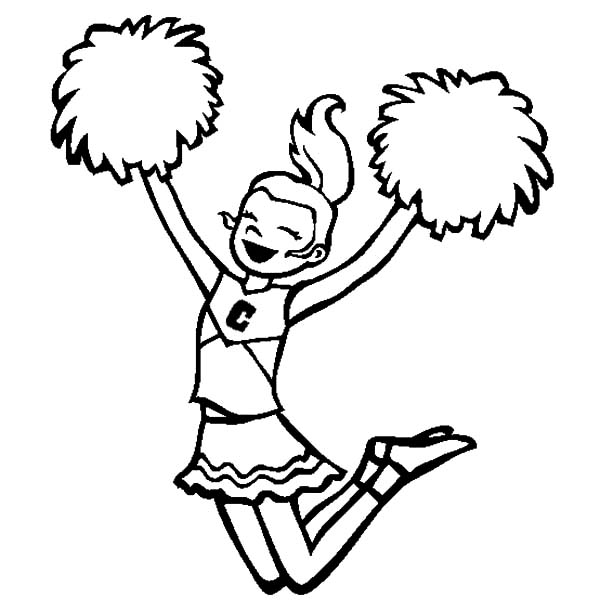 cheer coloring pages - find the best coloring pages resources here part 12